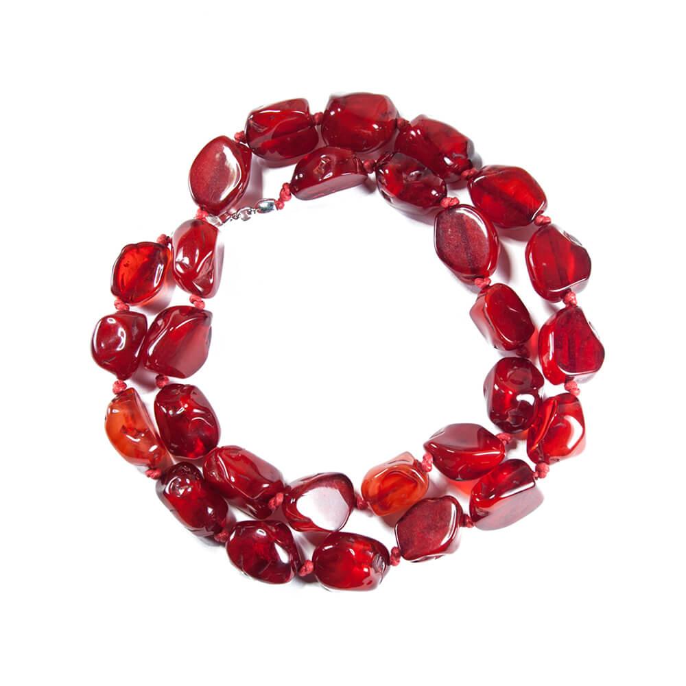 collar de resina sangre de b54