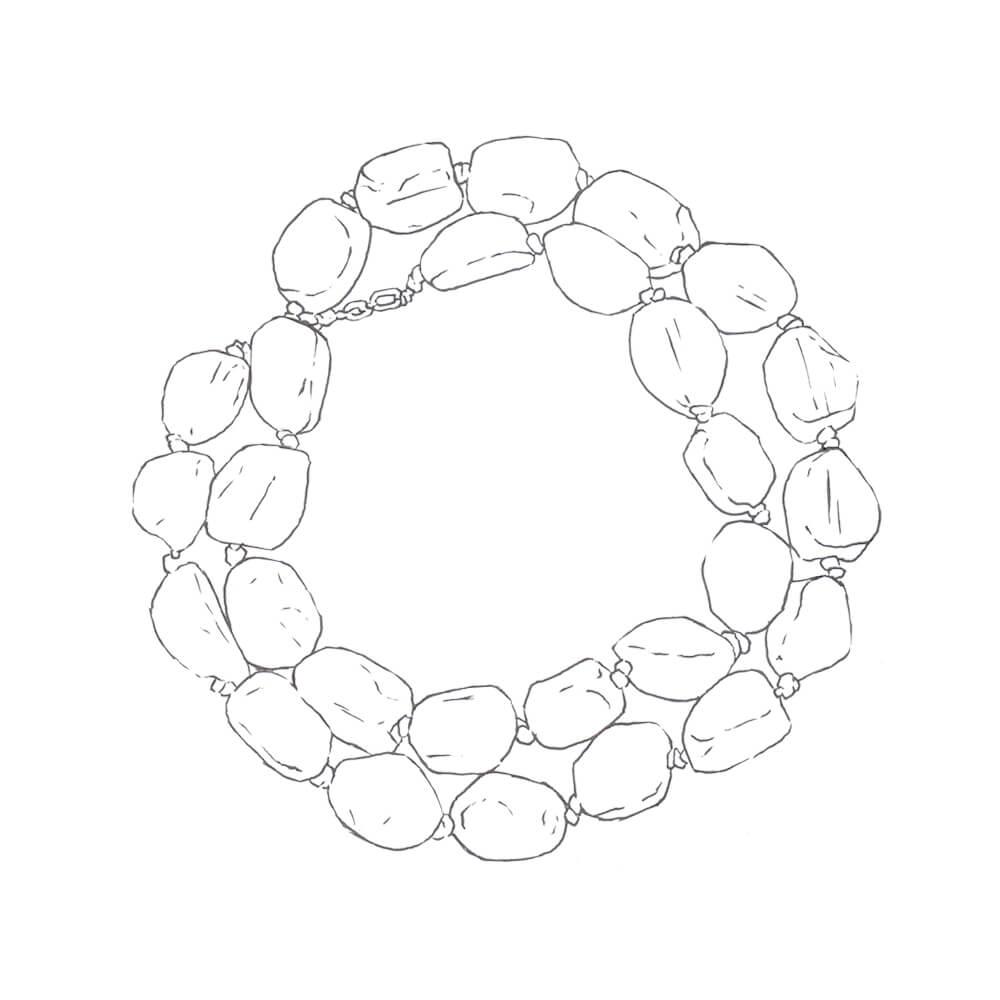 dibujo de collar b54